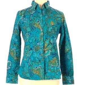 FINAL PRICE Lands' End Long Sleeve cotton shirt